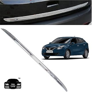 Trigcars Maruti Suzuki Baleno Car Chrome Dicky Garnish