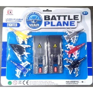 Battle Plane Toy 6 Pic Pack