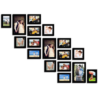 Crete Photo Frame (Brown, 17 Frames)