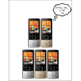 Set Of 5, IKall K6300 Mobile Phone( 2.8Inch, Dual Sim,