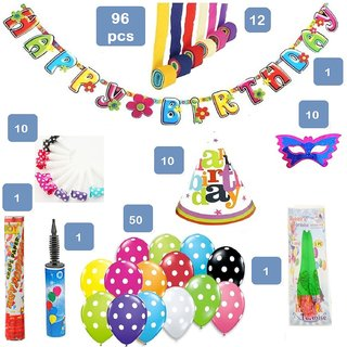 Complete Kit Set For Birthday Decorations Of Your Loved One