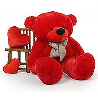 Red Teddy Bear 5 Feet, Buy Stuffed Toy 5 Feet Soft And Cute Teddy Bear Red Online Get 37 Off