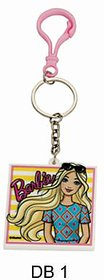 BARBIE Keychain DB 1 (Pack of 2) by Daffodils