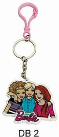 BARBIE Keychain DB 2 (Pack of 2) by Daffodils