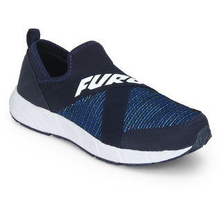 Furo By Red Chief Black Men Walking Shoes (W3012 863)