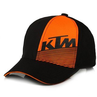 Buy Awesome Looks black KTM Cotton baseball Cap Online   ₹325 from ... 0466eab555bd