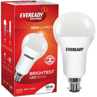 Eveready 18W-6500K Cool Day Light Single Pack