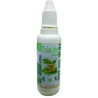 Hawaiian Herbal Tulsi Sat Drops 30 ML(Buy 1 Hawaiian Herbal Tulsi Sat Drops  Get 1 Same Drops Free)