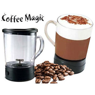 BANQLYN Coffee Magic Frothing Mug Gourmet Treat Coffee in Seconds
