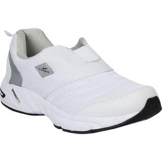 Campus Montaya White Silver Men Running Shoe