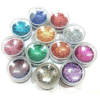 Colorful Fluorescent Piece Nail Art Decorations Glitters by Rab Company