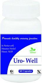 Hawaiian Herbal Uro Well Capsule 60 Capsules (Buy 1 Hawaiian Herbal Uro Well Capsule  Get 1 Same Drops Free)