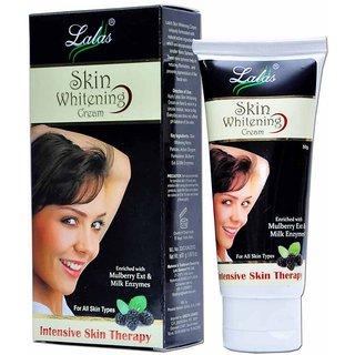 Lalas Skin Whitening Cream - 50gm Each ( Pack Of 2 )