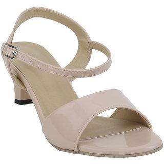 Glitzy Galz Women's Cream Heels