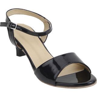 Glitzy Galz Women's Black Heels