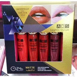 ADS Waterproof Nontransfer Longlasting Matte Lip gloss 6 Color
