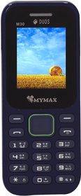 Mymax M30 (Dual Sim, 1.8 Inch Display, 1000 Mah Battery