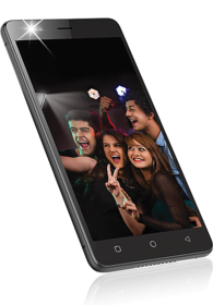 Intex aqua selfie mobile