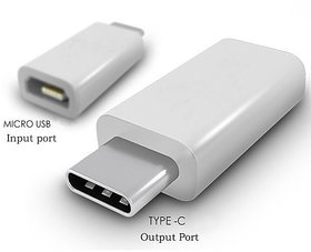 Micro USB To Type C Port Converter Adapter For Type C Mobile Phone