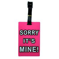 Humorous Words Printed Soft PVC Luggage Tag/ Travel Bag Tag Boy/girl Gift Funcky - 5692998