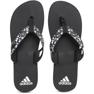ecdc045600ae67 Buy Adidas Ozor White And Black MS Flip-Flops Online - Get 0% Off