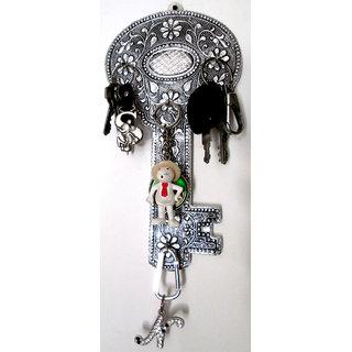 Handmade Decorative Wall mounted Key Stand/Holder - Key Design