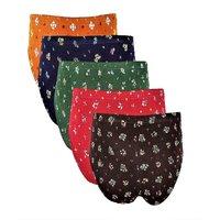 Panties  in Fancy Designer Multicolour  Cotton Bikini Panties Pack of 4