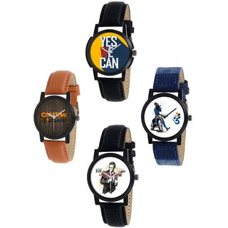 Exotica Present new Dial Watch Combo of 4 ps For Man -1226