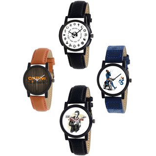 Exotica Present new Dial Watch Combo of 4 ps For Man -1227