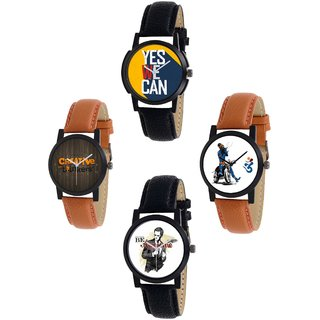 Exotica Present new Dial Watch Combo of 4 ps For Man -1229