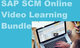 Sap Scm Online Video Learning Ebooks Set