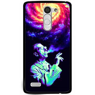 Snooky Printed Universe Mobile Back Cover For Lg L Fino - Multi