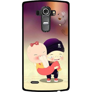 Snooky Printed Friendship Mobile Back Cover For Lg G4 - Multi