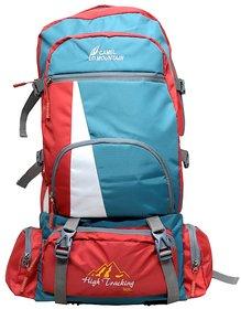 kart red mountain 70L multicolour rucksack bag(for journey)