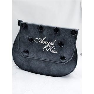 64a9d9fc29 Buy AK 263 - Black colour side sling bag Online - Get 5% Off