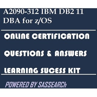 A2090-312 IBM DB2 11 DBA for z/OS Online Certification Video Learning  Success Kit
