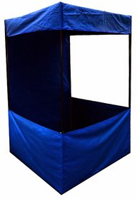 PROMOTIONAL CANOPY 4 BY 4 BY 7 FEET - BLUE COLOR