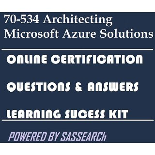 70-534 Architecting Microsoft Azure Solutions Online Certification Video  Learning Success Kit