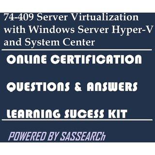 74-409 Server Virtualization with Windows Server Hyper-V and System Center Online Certification Video Learning Success Kit