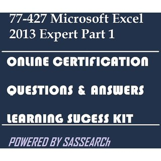 77-427 Microsoft Excel 2013 Expert Part 1 Online Certification Video Learning Success Kit