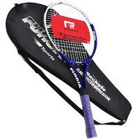HOMMER Carbon-Steel Tennis Racquet, Size 21 , 3 CM Strung  .