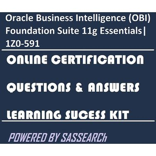 Oracle Business Intelligence (OBI) Foundation Suite 11g Essentials 1Z0-591  Online Certification & Interview Video Learning Success Kit