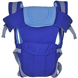 JOHN RICHARD Adjustable Hands-Free 4-in-1 Carry bag Comfortable Head Support Buckle Straps waist Belt (Blue)