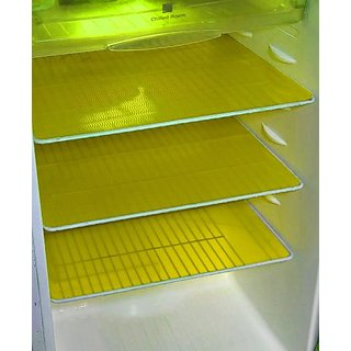 Deerosita PVC Fridge Mat Refrigerator Drawer Mat / Fridge Mat Set Of 6 Pcs