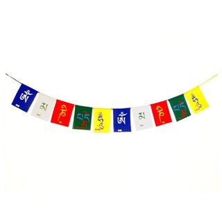 SCORIA Combo Tibetian Buddhist Prayer Flags For Motorbike  Car For Maruti Wagon R