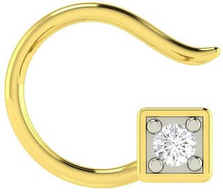 Avsar Real Gold and Diamond  Sachi Nosepin AVN3YA
