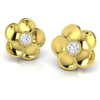 Avsar Real Gold and Diamond  Samiksha Earring AVE6YA