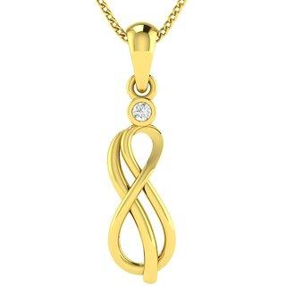 ac1ac6edaf311 Buy Avsar Real Gold and Diamond Poonam Pendant AVP45YA Online - Get 50% Off