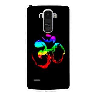 Snooky Printed Om Mobile Back Cover For Lg G4 Stylus - Multi