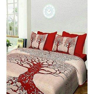 Jaipuri 100 pure cotton bedsheet